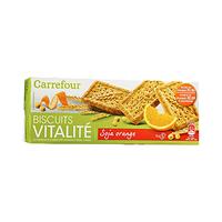 Carrefour Biscuit Soya & Orange 200GR