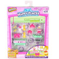 Shopkins Happy Places  S1 Decorator Pack - Kitty Dinner Party
