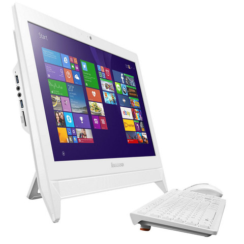 "Lenovo-All-In-One-PC-C20-3060-4GB-RAM-500GB-Hard-Disk-1GB-Graphic-Card-19.5""""-White"