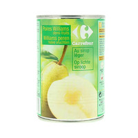 Carrefour Pears In Light Syrup 455GR