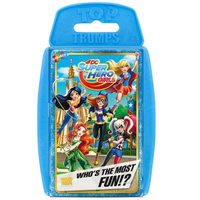 Top Trumps Card Game - DC Superhero Girls