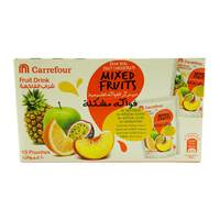 Carrefour Mixed Fruits Fruit Drink 200ml x10