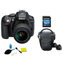 Nikon SLR D5300 + AFP18-55VRKIT+ 16GB + Case + Care Kit