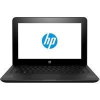 """HP Notebook 2 in 1 Stream X360-11-Aa002 Celeron-N3060 4GB RAM 32GB Memory 11.6"""" Black"""