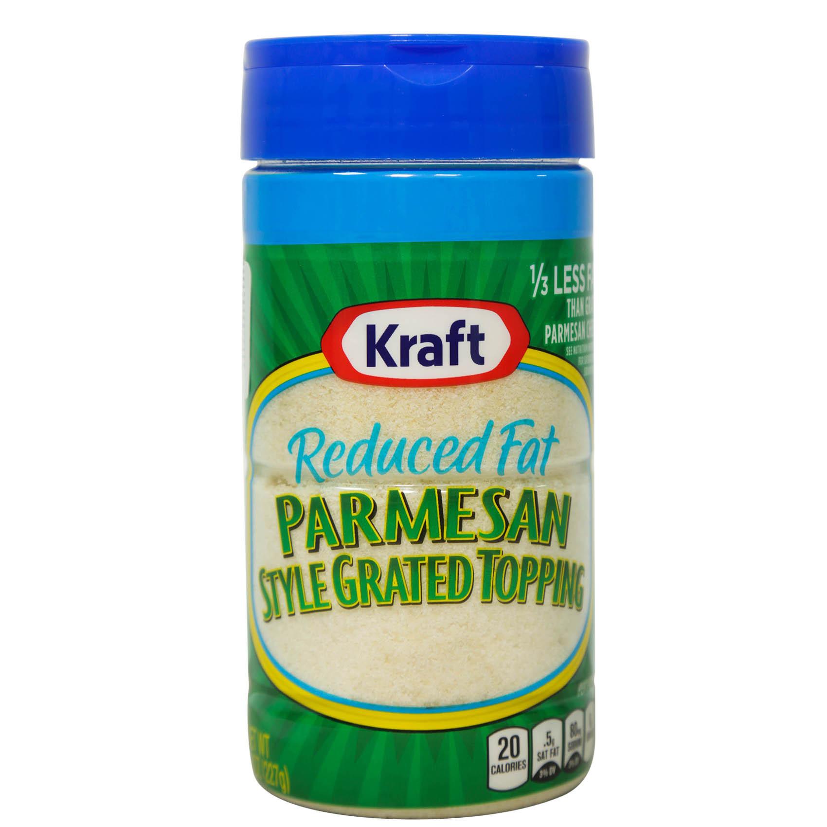 KRAFT GRATED PARMESAN FAT FREE 227G