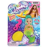 JaRu My Mermaid Doll set