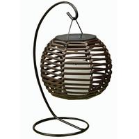 Hk Solar Antique Lantern Lamp 12.7X12.7Cm