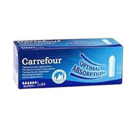 Carrefour Ladies Tampons Digital Super 24 Napkins