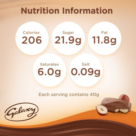 Galaxy®-Hazelnut-Chocolate-Bar-40-g
