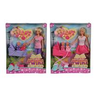Steffi Love Sunshine Twins Doll With Baby (Styles Vary)