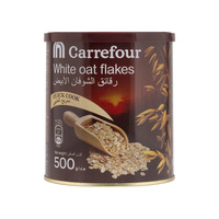 Carrefour White Oat Flakes 500g