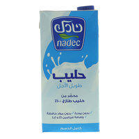 Nadec Full Fat Long Life Milk 1L