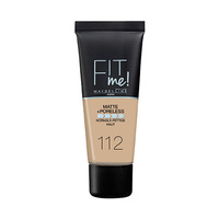 Maybelline New York Fit Me. Matte & Poreless Foundation No.112 Soft Beige 30ML