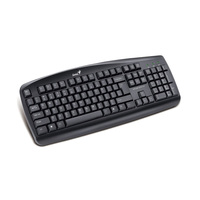 Genius Keyboard KB-110 Black Ara