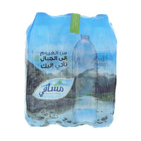 Masafi Bottled Drinking Water 1.5Lx6
