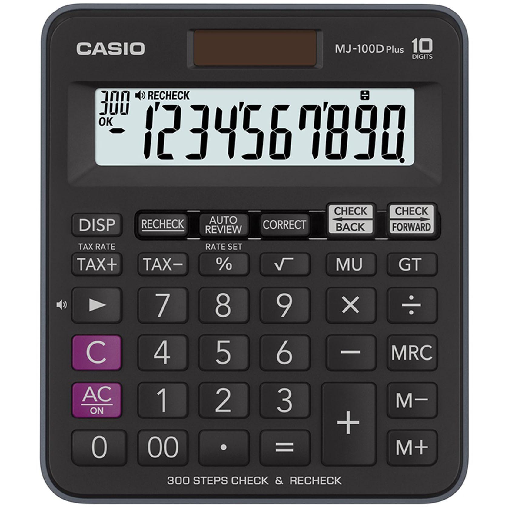 CASIO MJ-100D PLUS DESKTOP