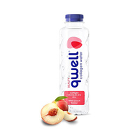 Qwell Collagen With Water Peach Flavour 47.5CL