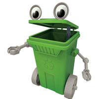 4M Eco-Engineering Rubbish Cart Robot Toy