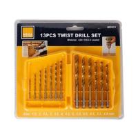 Mega Titanium Twist Drill  Set 13 Pieces