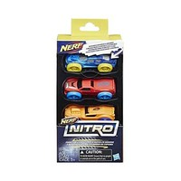 Nerf Nitro Foam Car 3 Stuks Assorted