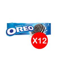 بسكويت بالشوكولاتة من اوريو - 28.5 جم عبوة من 12