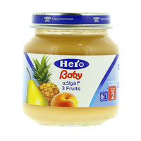 Hero Baby 3 Fruits 130 g