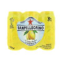 San Pellegrino Sparkling Lemon Beverage 330mlx6