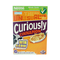 Nestle Curiously Cinnamon Cereals 375g