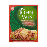 John West Tuna with A Twist, Tomato & Herb Dressing 85g
