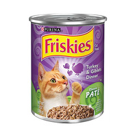 Friskies Turkey & Giblets Dinner Cat Food 368GR