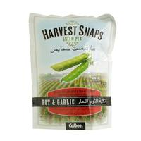 Harvest Snaps Green Peas Hot And Garlic 93g
