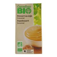 Carrefour Soy Caramel Dessert 500g