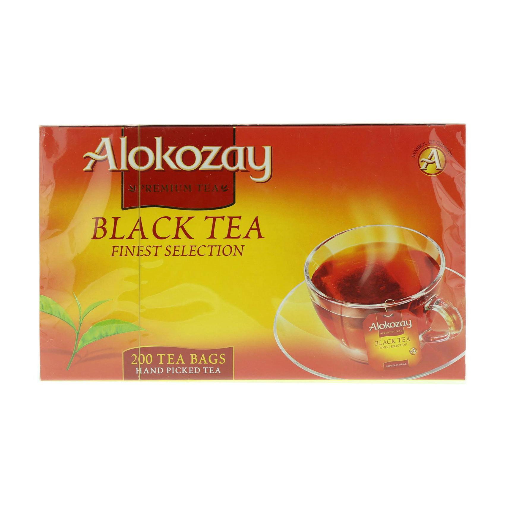 ALOKOZAY BLACK TEA BAGS 200'S 400G