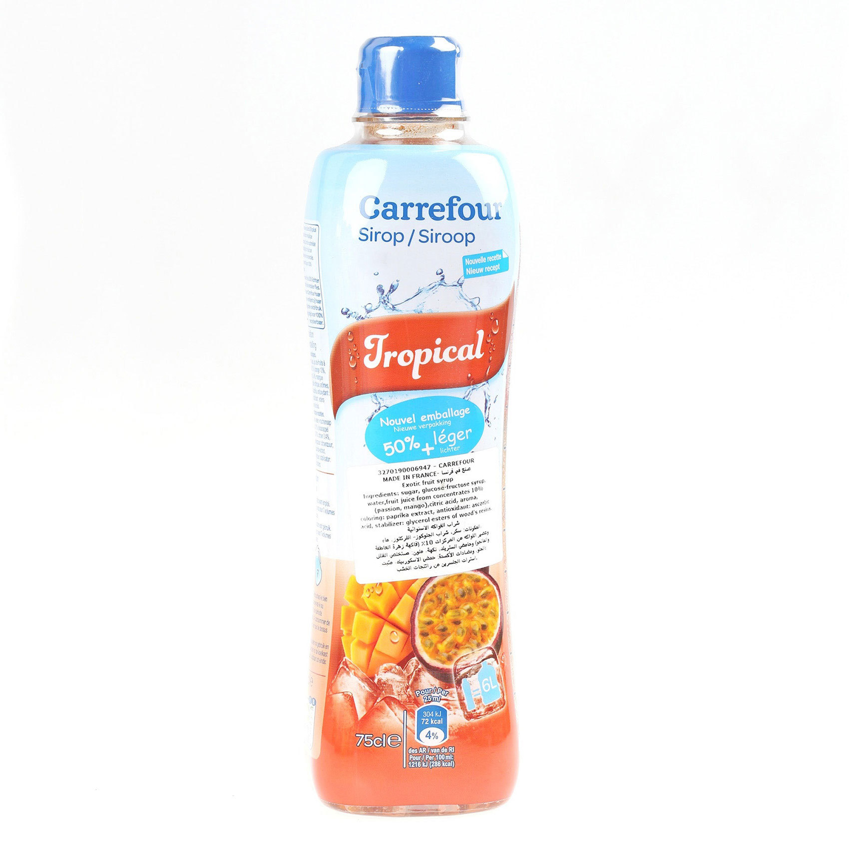 CRF SYRUP TROPICAL FRUITS 75CL