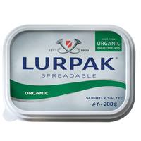 Lurpak Organic Spreadable Slightly Salted 200g