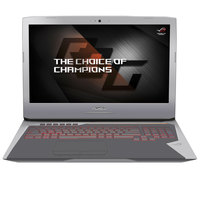 "Asus Notebook Gaming ROG G752VS-GB367T i7-7820 32GB RAM 1TB Hard Disk+515GB SSD 8GB Graphic Card 17.3"""" Grey"