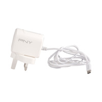 PNY Charger Micro USB With Fast ID Cable 2.4A White
