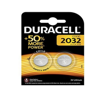 Duracell More Power Lithium Batteries 2032 3V 2 Pieces