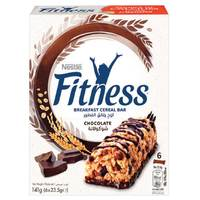 Nestle Fitness Chocolate Cereal Bar 23.5gx6