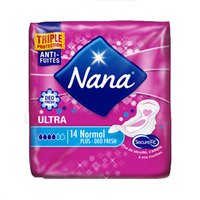 Nana Ladies Pads Ultra Normal Deo Fresh 14 Napkins