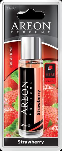 Areon Air Freshener Strawberry Perfume 35 Ml