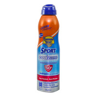 Banana Boat Sport Coolzone Sunscreen Lotion Continuous Spray 170g