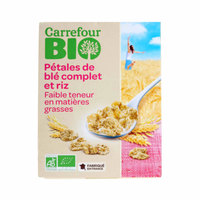 Carrefour Bio Organic Whole Wheat and Rice cereals 300g