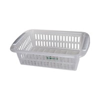 Poly Time Transparent Basket Rectangular 3 Liter