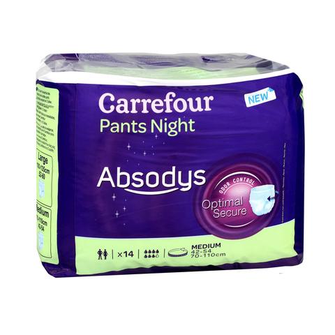 Carrefour Adult Medium Panties Night X14 S