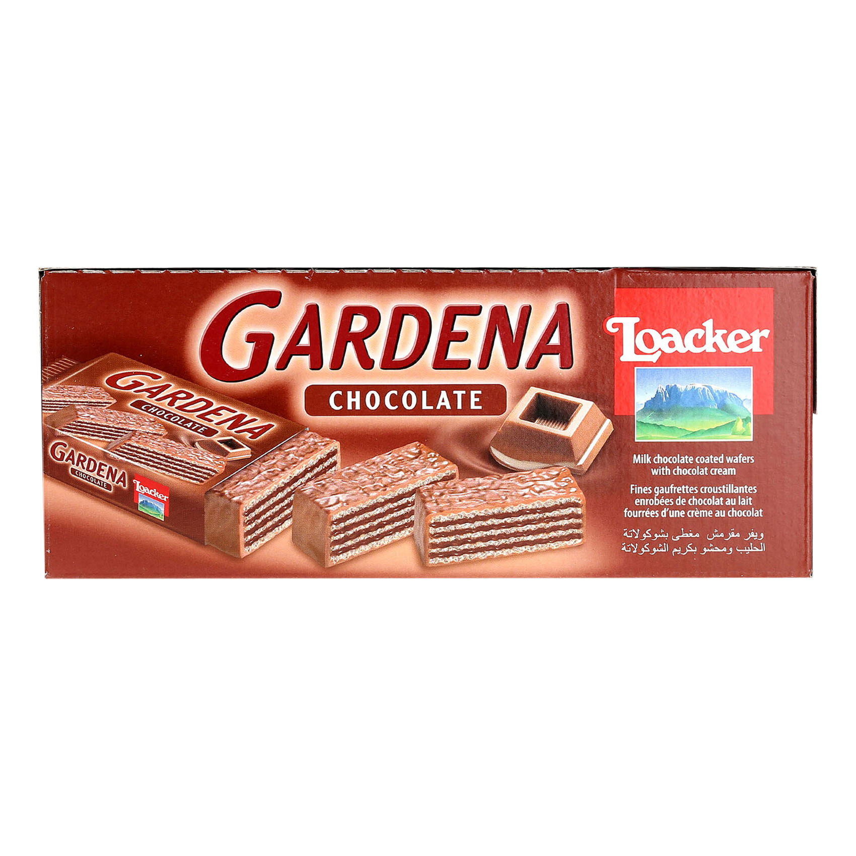 LOACKER GARDENA CHOCOLATE 38GRX25
