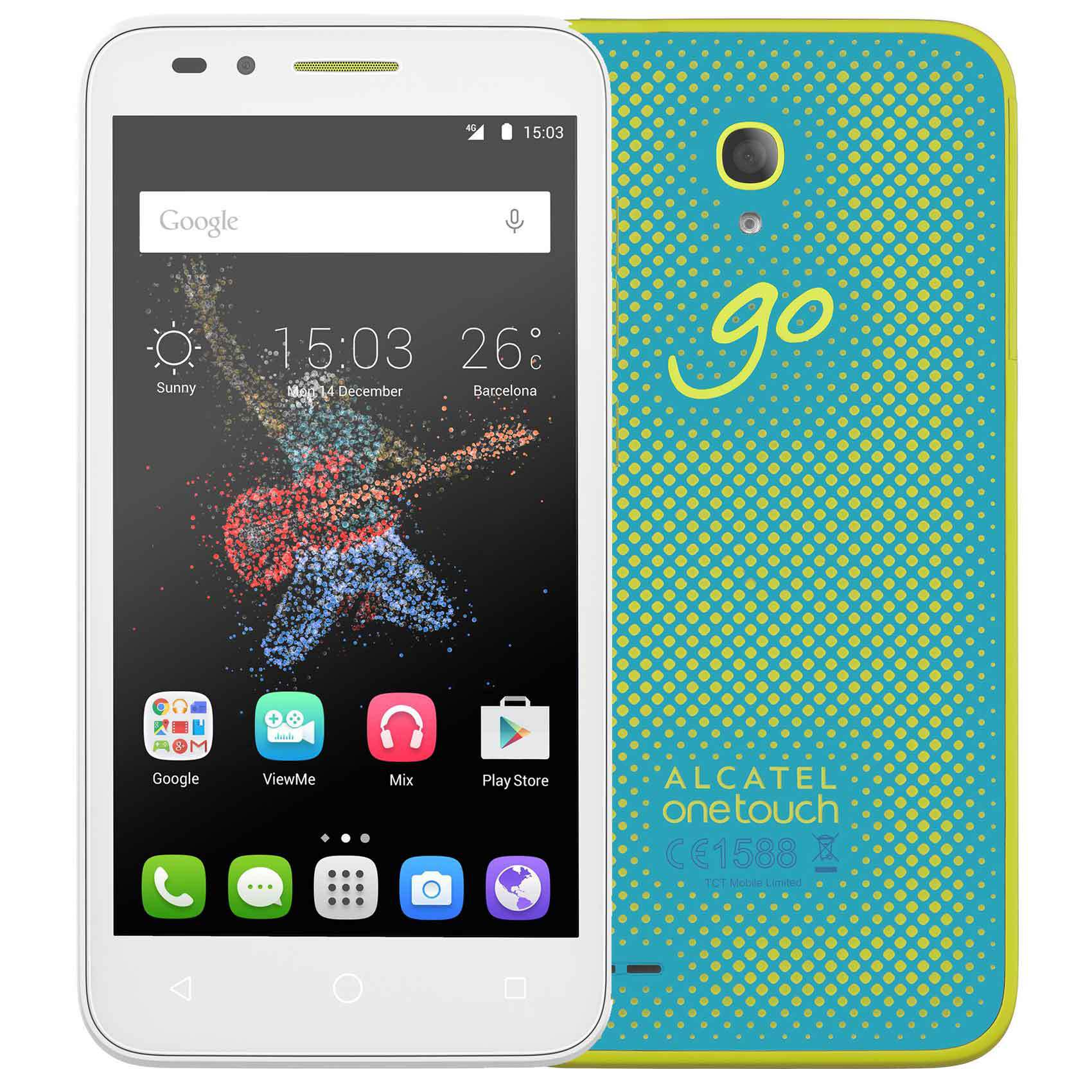ALCATEL 7048X 8GB GO PLAY BLU WHITE