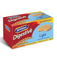McVitie's Digestive Light Reduced Fat Wheat Biscuits 250 g