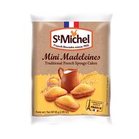 St Michel Mini Madeleines Traditional French Sponge Cakes 85GR