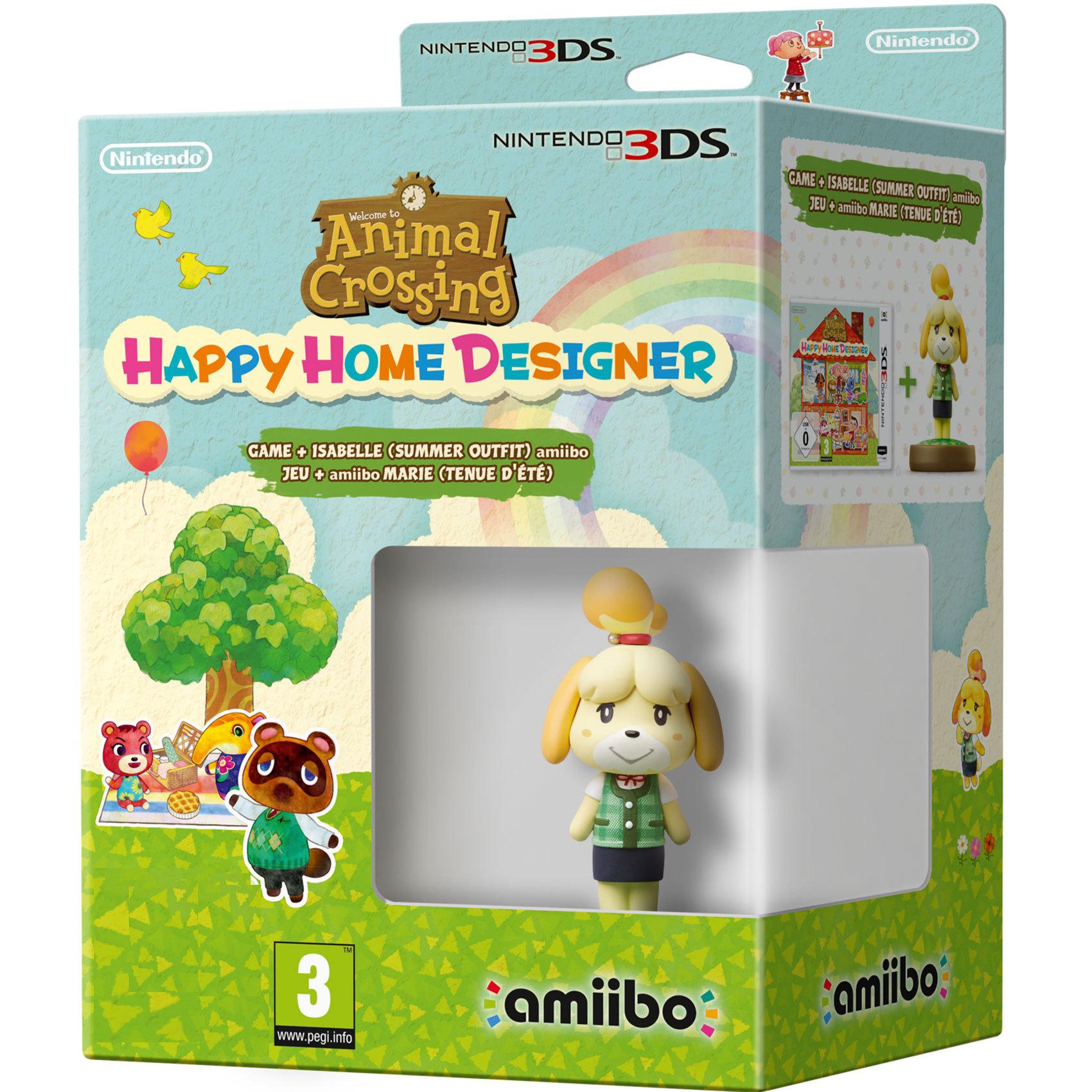 NINTENDO 3DS ANI CROSS: HAPPY+ISAB